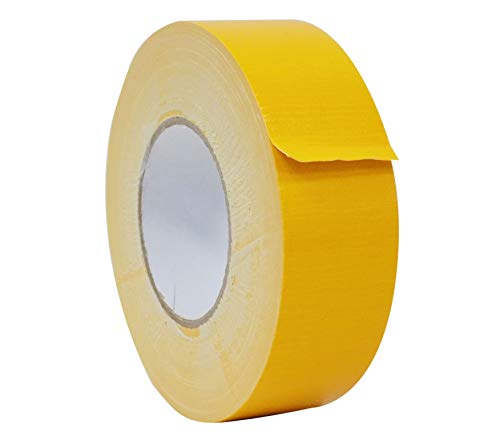 MAT Duct Tape Schoolbus Yellow Industrial Grade - 1/2 in. x 60 yds. - Waterproof, UV Resistant for Crafts, Home Improvement, Repairs, Projects (Available in Multiple Colors) ()