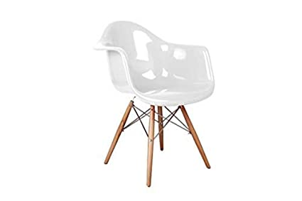 Amazon.com   Benzara BM185087 Fiberglass Dining Arm Chair ...