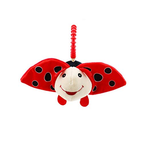 Baby Stuffed Soft Toy, Witspace Toddlers Lovely Plush Doll Boys Girls Hanging Fluffy Toy (Ladybug)