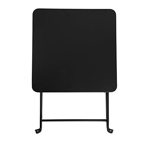 Finnhomy small square folding side end table sofa tray for Small square sofa