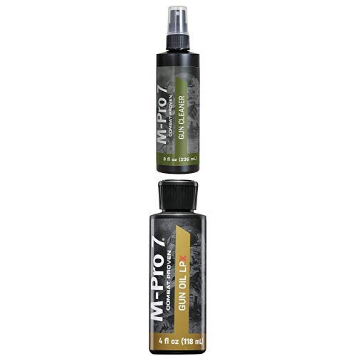Hoppe's M-Pro 7 Gun Cleaner - 8 Ounce Spray Bottle and M-Pro7 070-1453 4oz 7 Lpx Gun Oil by Hoppe's