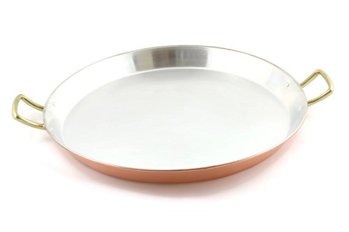 Copper spanish paella pan 15'' Inch by Copperino (Image #3)