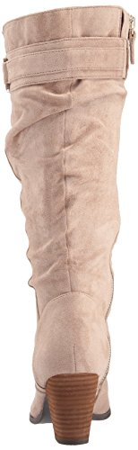 Microfiber Dr Calf Devote Putty Scholl's womens Wide 6wwAqpSF