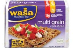 Wasa Crispbread - Multi Grain Crispbread (12-9.7 OZ) - Healthy and Great Taste