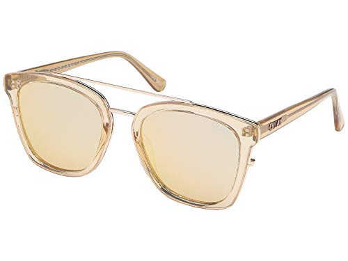 Quay Women's Sweet Dreams Sunglasses, Champagne/Rose, Pink, Rose Gold, One ()
