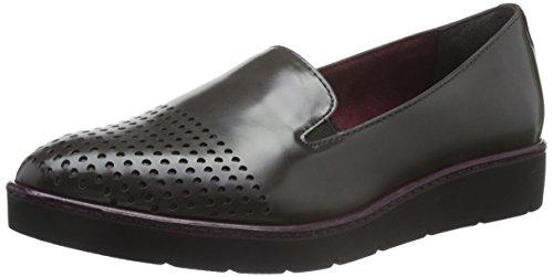 Tamaris WoMen 24310 Loafers, 5 UK Grey (Anthracite 214)