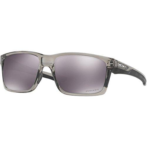 Oakley Men's Mainlink Non-Polarized Iridium Rectangular Sunglasses, Polished Black, 57 - Ski Oakley Glasses