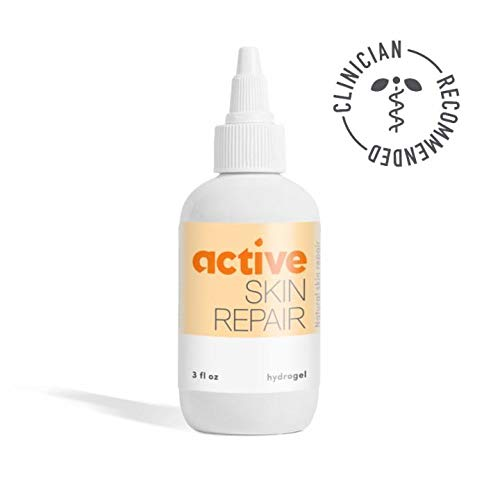 Active Skin Repair Hydrogel - The Natural & Non-Toxic Healing Ointment & Wound Gel for Minor cuts, scrapes, rashes, sunburns and Other Skin irritations (3oz)