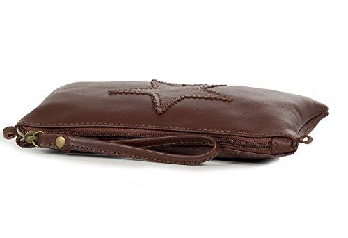 Taschenloft, Borsa a spalla donna Small Marrone (Marrone)