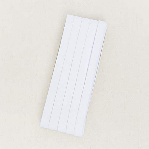 Blue 3yds Bias Tape Natural Pigment Cotton Trim 10mm Solid bias Colour Double fold