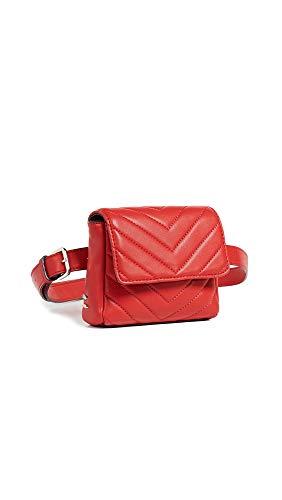 reTH Women's Sawyer Belt Bag, Red, One Size