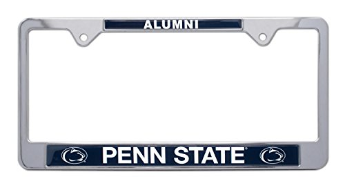 (All Metal NCAA Alumni License Plate Frame (Penn State))