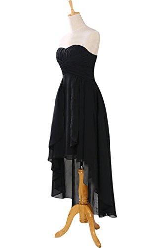Missdressy -  Vestito  - plissettato - Donna nero 44