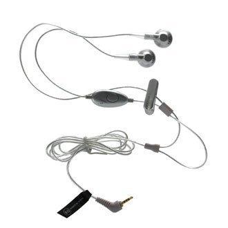 OEM Motorola Silver Universal 2.5mm Stereo Headset Oem 2.5 Mm Stereo