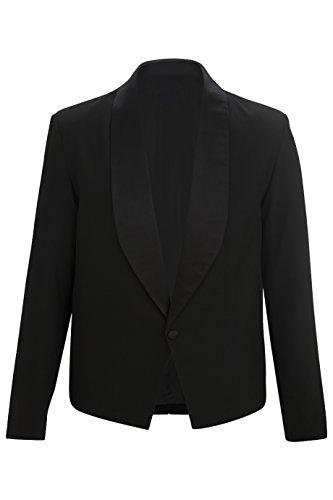 (Edwards Men's Eton Server Jacket, Black, XXXX-Large)