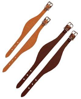 (Weaver Bridle Leather Fender Hobbles - Style:Flared Color:Honey)