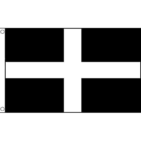 PAVILLON d/épartement fran/çais AZ FLAG Drapeau Morbihan 45x30cm Bretagne 30 x 45 cm Haute qualit/é