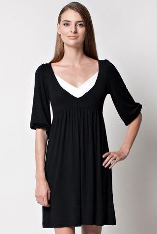 経典 DOTE M (ドーテ) 授乳ドレス/ナーシングドレス (ブラックホワイト) Dress Harper Dress B0079DUH5E M B0079DUH5E, オートパーツエージェンシー2号店:ecba3323 --- a0267596.xsph.ru