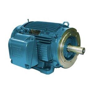 WEG 00236ET3E145TC-W22 W22 NEMA Premium Efficiency Ball Bearing Severe Duty and General Purpose Electric Motor, 2 HP, 3-Phase, 3475 rpm, 208-230/460 V, 60 Hz, Frame 143/5TC