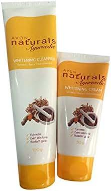 Avon Naturals Ayurvedic Whitening Cream 50gm & whitening Cleanser 100gm