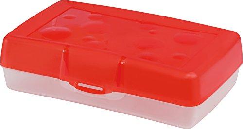 Storex Industries 616u12c-12 Plastic Pencil Box 8.375x5.625x