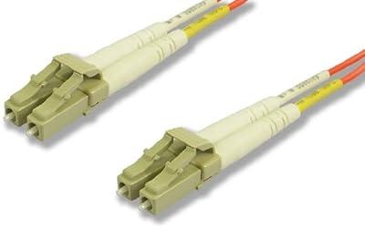 Lynn Electronics LCLCDUPMM-25M LC-LC 62.5/125 Duplex Multi-Mode Fiber Optic Patch Cable, 25-Meter, Orange