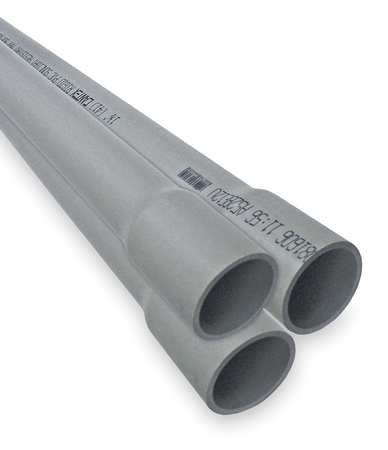 Schedule 40 Conduit, 1/2 In., 10 ft. L
