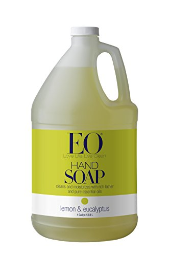 EO Liquid Hand Soap Refill, Lemon and Eucalyptus, 128 Flu...