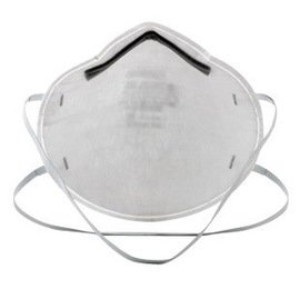 3M™ Standard N95 8200 Disposable Particulate Respirator With Adjustable Nose Clip - Meets NIOSH And OSHA Standards (20 Box)