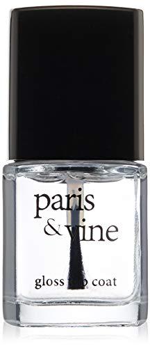 Paris & Vine Nail Lacquer, 100 Gloss Top Coat, 0.50 Fluid Ounce