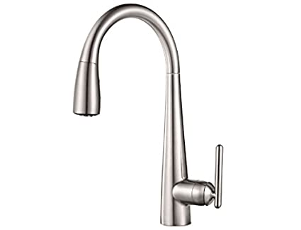 water filter for pull down faucet. Pfister GT529 FLS Lita Xtract All In One Pull Down Kitchen Faucet With
