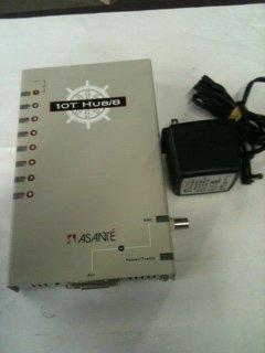 - Asante Plug 10T Hub/8 Ports Ethernet Hub