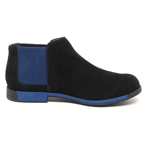 Beatles Nero blu without Donna D8630 Woman Shoe Boot Camper Box 1tfxwPWBqt
