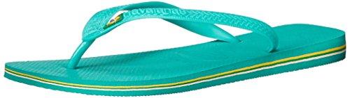 Havaianas Heren Brazilie Flip Flop Groen Meer / Groen Meer