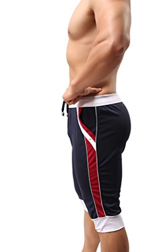 ONEFIT Men's Fashion Sports Pants Summer Thin Section Pants Capri Pants Shorts