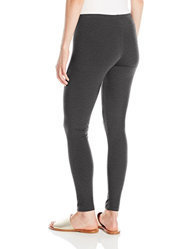No Nonsense Women's Cotton Legging Sockshosiery, -Charcoal Grey, M