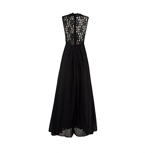 A Dresses Sleeveless Lace Dresses V Neck Evening Beauty Women's Line AK Green Maxi xqYz0Tz