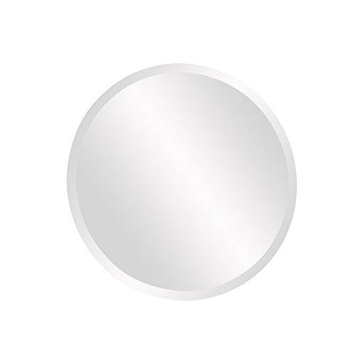 Howard Elliott 36003 Frameless Mirror, Round, Small, 12-inch (Mirrors Frameless Small)