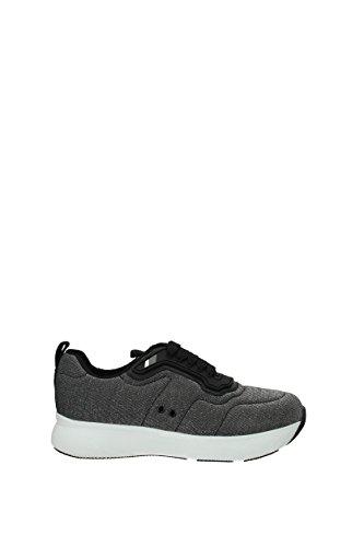 Mujer Plata Sneakers EU 3E6321 Prada Tejido 5wCaxRqRX