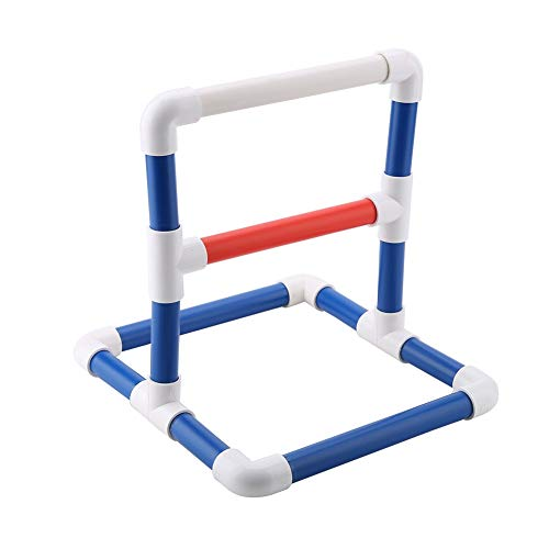 Pvc Bird Perches - HEEPDD Bird Perch Platform Training Stands Parrots Shower Perches Playstand Playgound Standing Toy for Macaw Cockatoo African Grey Budgies Parakeet Cockatiel Conure Lovebirds(PVC)