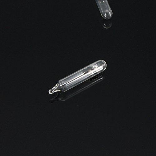 Kenthia 50pcs Worm Jig Fishing Lure Bead Glass Rattles Insert Tube Rattles (Glass Rattles)