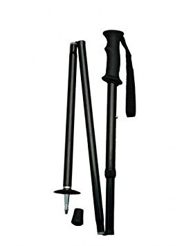Folding and Adjustable Backcountry Hiker Hiking Stick