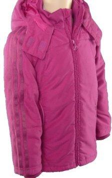 adidas - Abrigo - para niña rosa rosa Talla única: Amazon.es: Ropa y accesorios