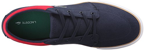 Lacoste Mens Bayliss 116 2 Mode Gymnastiksko Marin / Röd