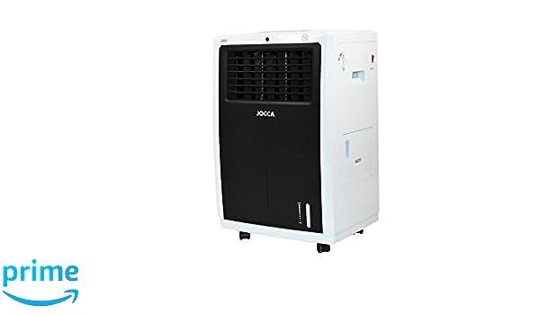 Jocca 5892N Bioclimatizador frío y Caliente, 230 W, 9 litros, Plástico, 3 Velocidades, Blanco y Negro: Amazon.es: Hogar