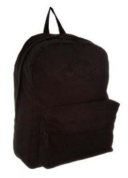 Vans Realm Plain Backpack Rucksack Bag (Black Onyx): Amazon.co.uk ...