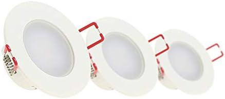 Xanlite PACK3SEL345CWIP inbouwlamp 3 spots gentegreerd voor badkamer neutraal wit