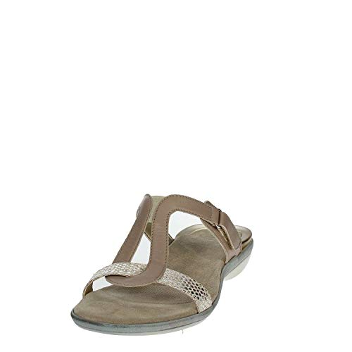 Beige Banack scholl Dr Mujer Chancla 0fqxZzwO