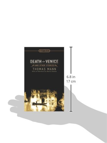 Amazon Death In Venice And Other Stories Signet Classics