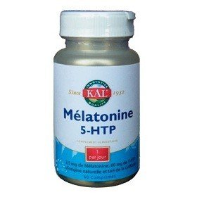 Solaray - Solaray Melatonina 1,9 mg + 5Htp 50 mg - 60 pastillas AP ...